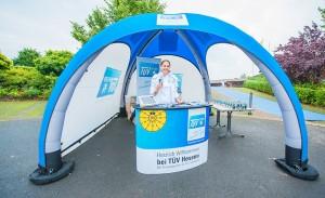 Promotion Aktion mit TÜV Hessen