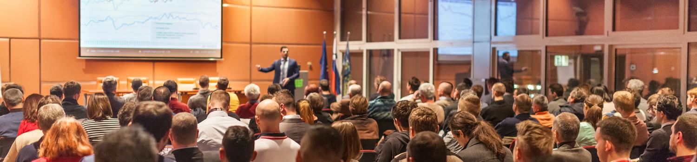 Tagungen, Konferenzen und Kongresse